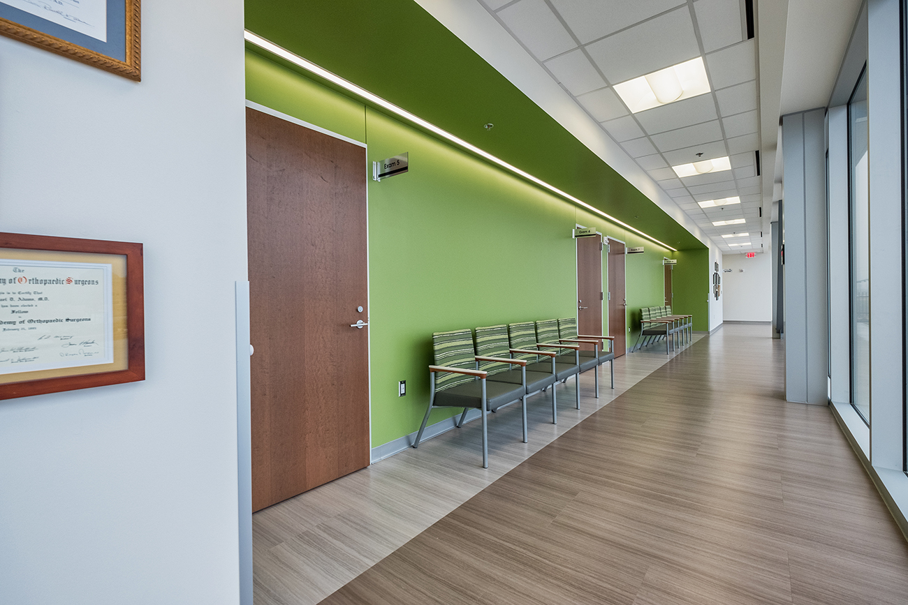Ortho texas medical office building pogue construction for Office 606 design construction llc
