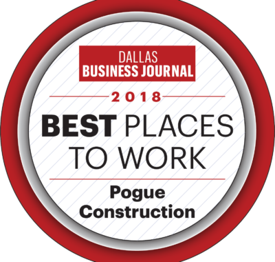 Pogue Construction Makes the Top Ten List of Best Places To Work Again! (Medium Category)